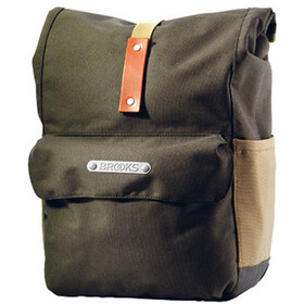 Brooks Norfolk Front Travel Panniers green/honey
